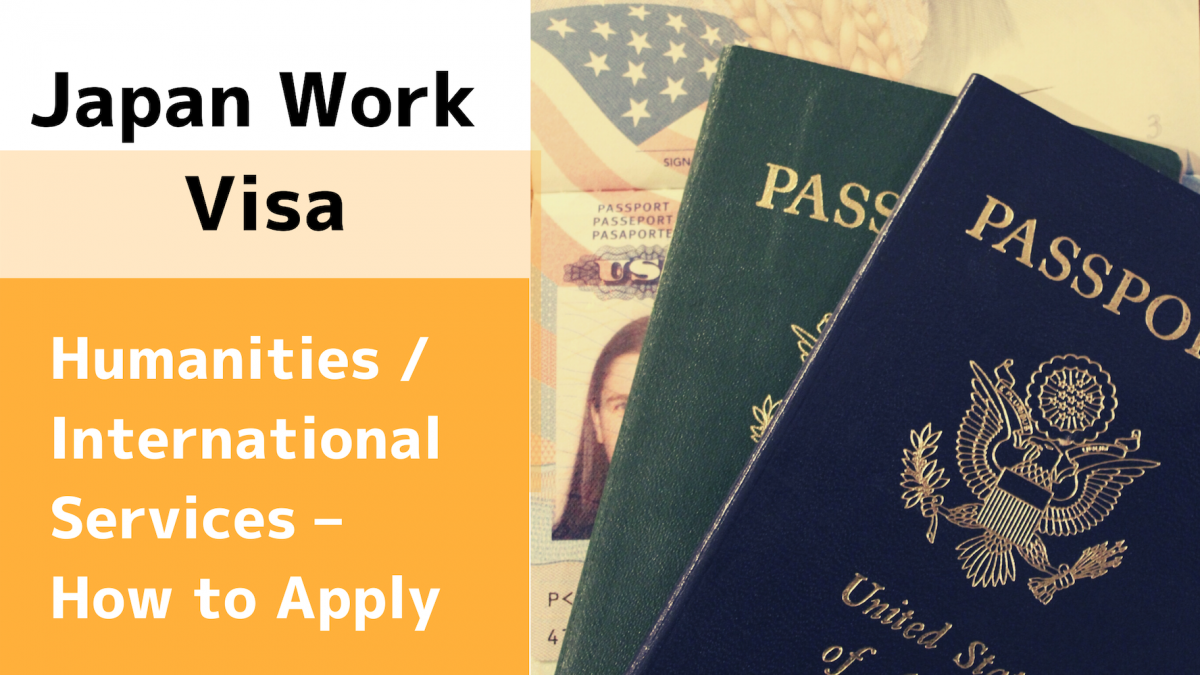 Japan work visa cover photo